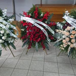 wieńce i wiązanki Warmiński Zakład Pogrzebowy
